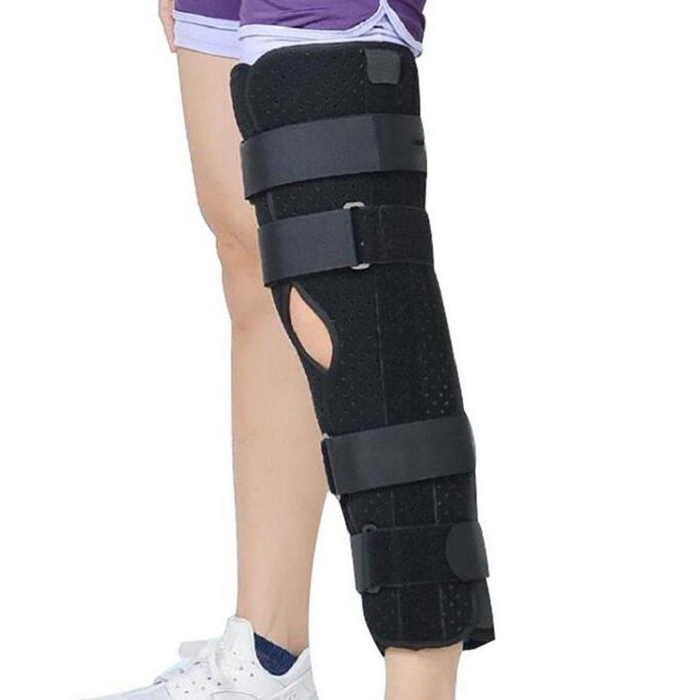 069e7139bc Patellar Knee Support Leg Fixation Brace Medical Knee Fracture Stent  Meniscus Ligament Injury Knee Stabilise
