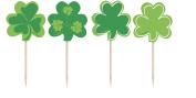 Saint Patrick's Day Shamrock Toothpicks 8ct