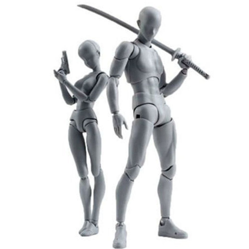 Body-Chan Model, Uranny Body Kun Doll PVC Body-Chan DX Action Play Art  Figure Model Drawing For SHF