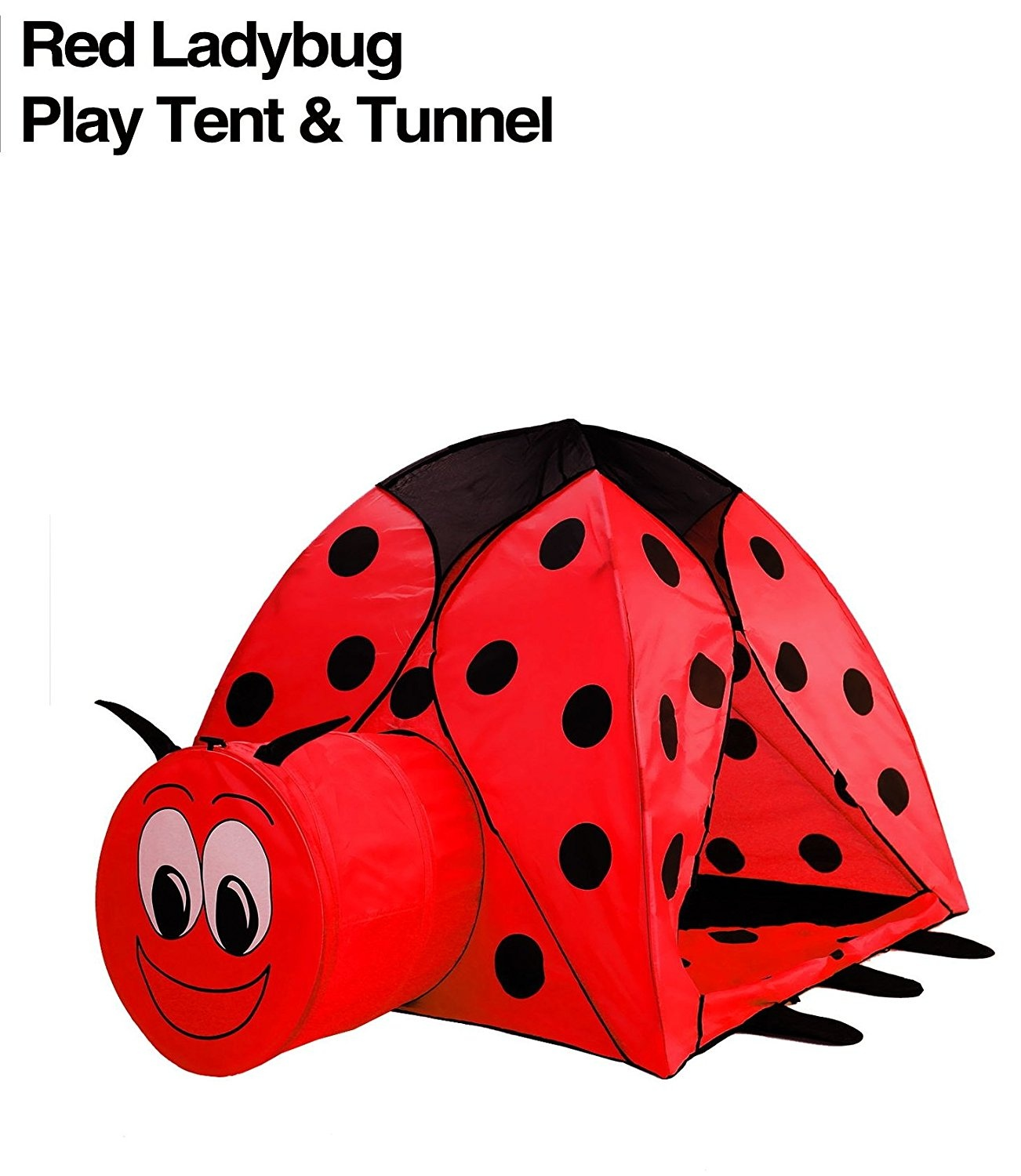 Gigatent Lily The Lady Bug Play Tent Bälle