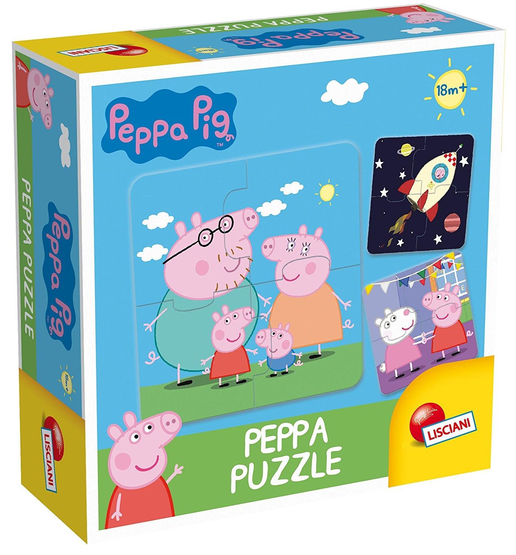 Lisciani Giochi 64915 0 Peppa Pig Games Puzzle