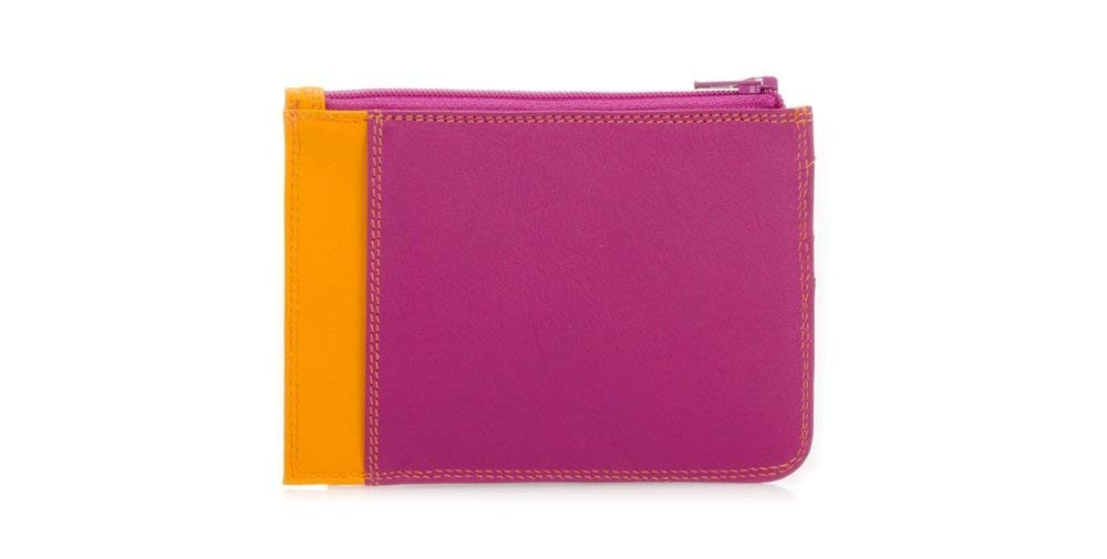 3aac9227a405 Mywalit Leather Slim Credit Card Holder with Coin Purse 1210