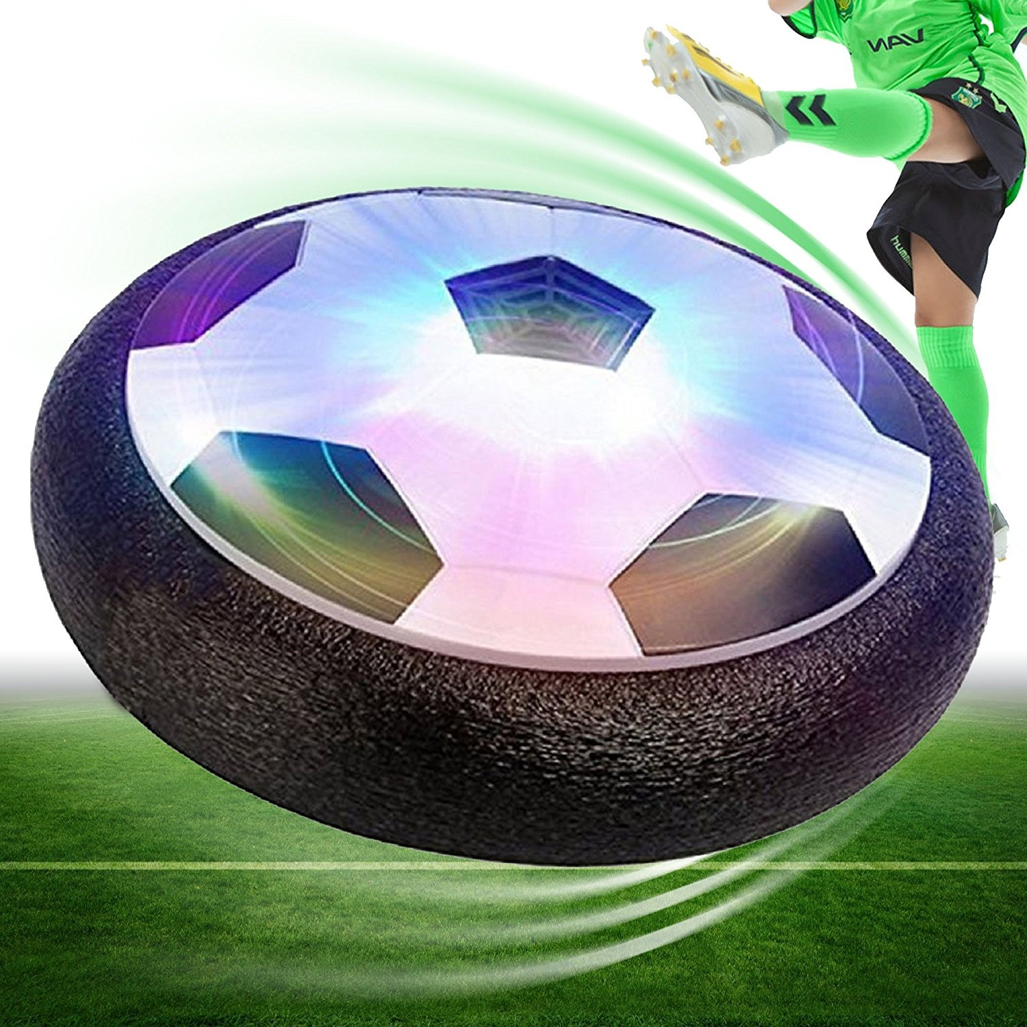 0fd57b0ec292 Hover Ball Air Power Soccer Disc Hover Soccer Football with Powerful ...