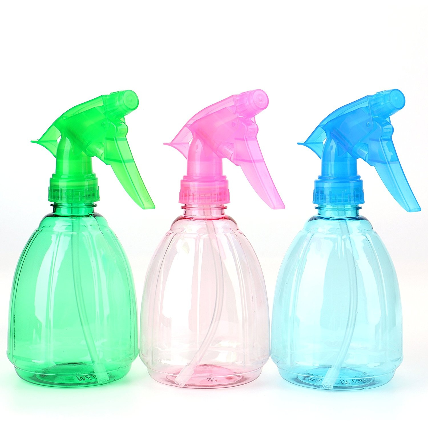 947431b696af Bekith 9 Pack 350ml Empty Plastic Spray Bottles Multi Purpose Use Sprayers  Assorted Colours