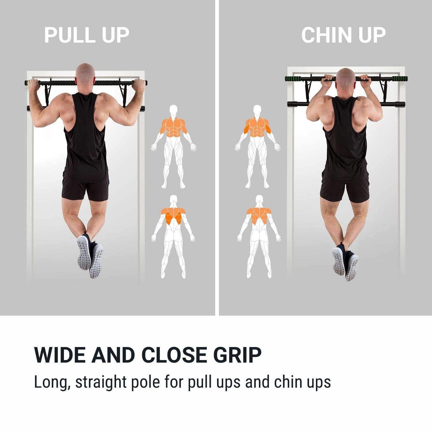 Pull-Up Bars KY Pull Up Bar On the door single parallel bars pull-up indoor horizontal bar fitness equipment push-ups sit-ups Fitness
