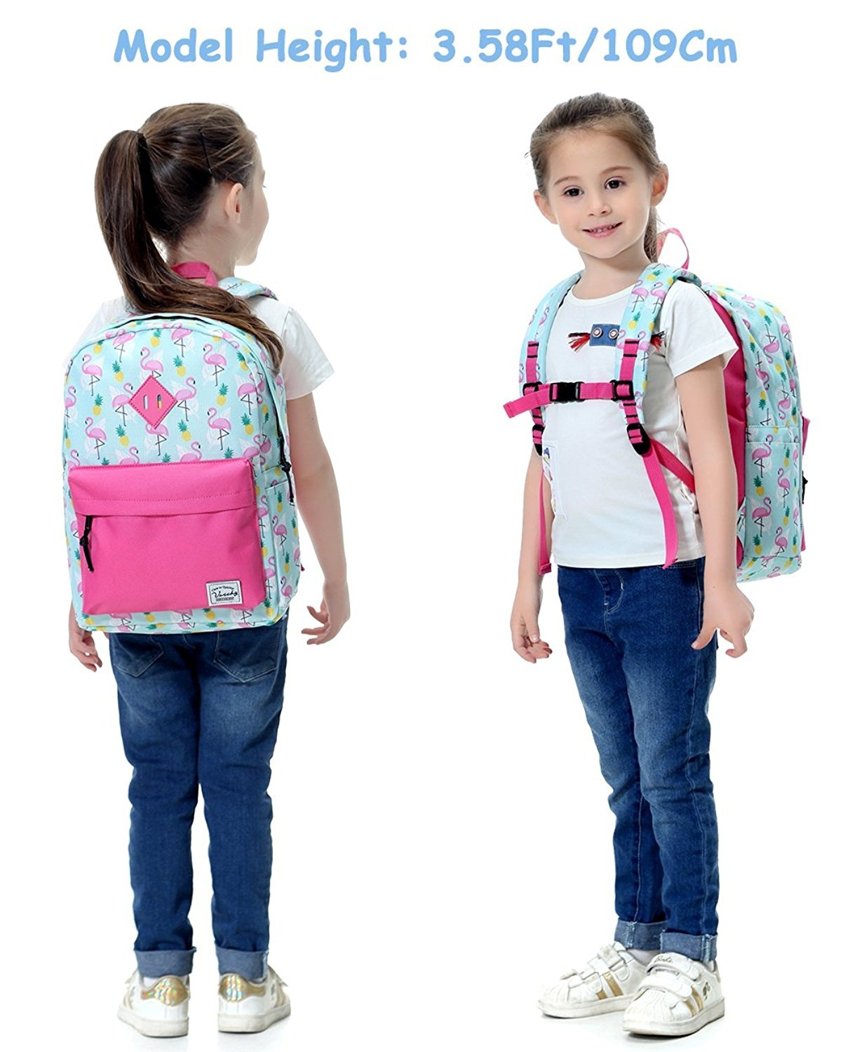 5cad3a803692 Preschool Backpack,Vaschy Little Kid Backpacks for Boys and Girls with  Chest Strap
