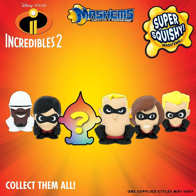 Mashems Disney Pixar Incredibles 2 Series 1 Lot of 2 Sealed Capsules