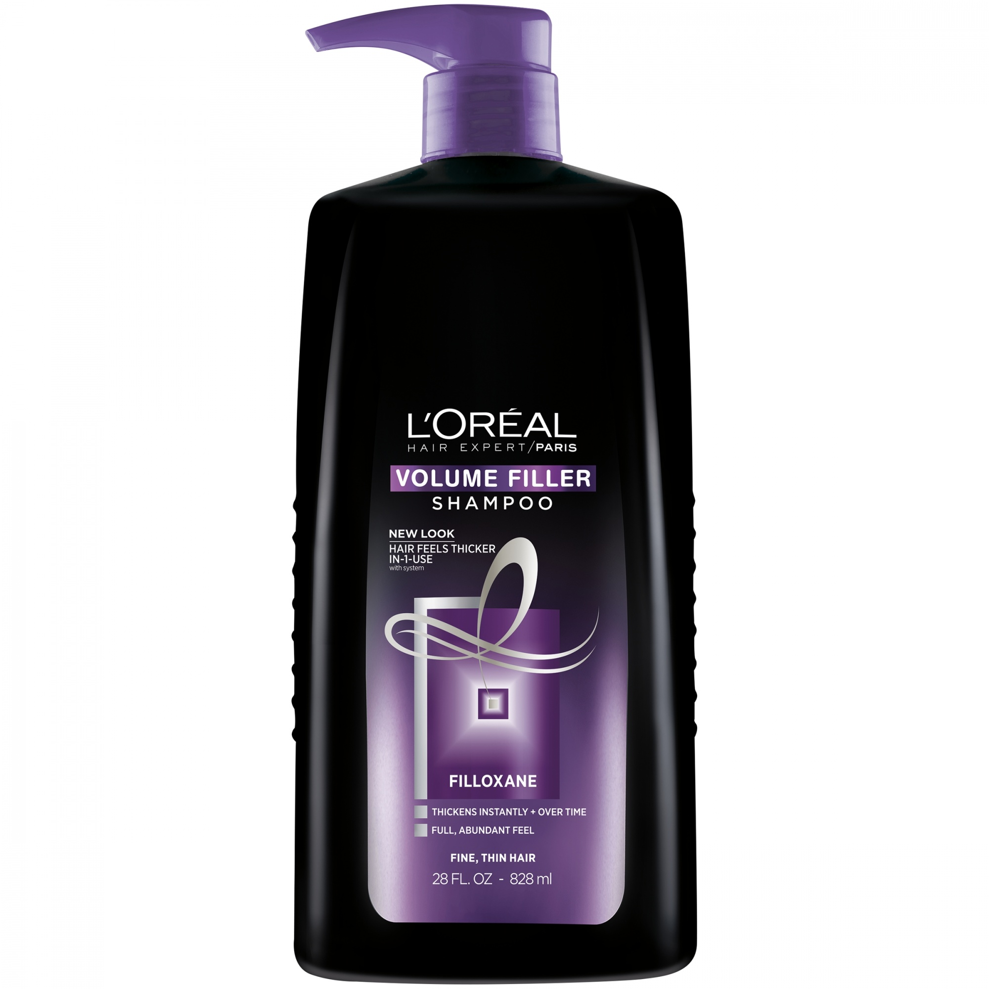 74efcb6cfae L'Oréal Paris Hair Expert Volume Filler Thickening Shampoo, 830ml ...