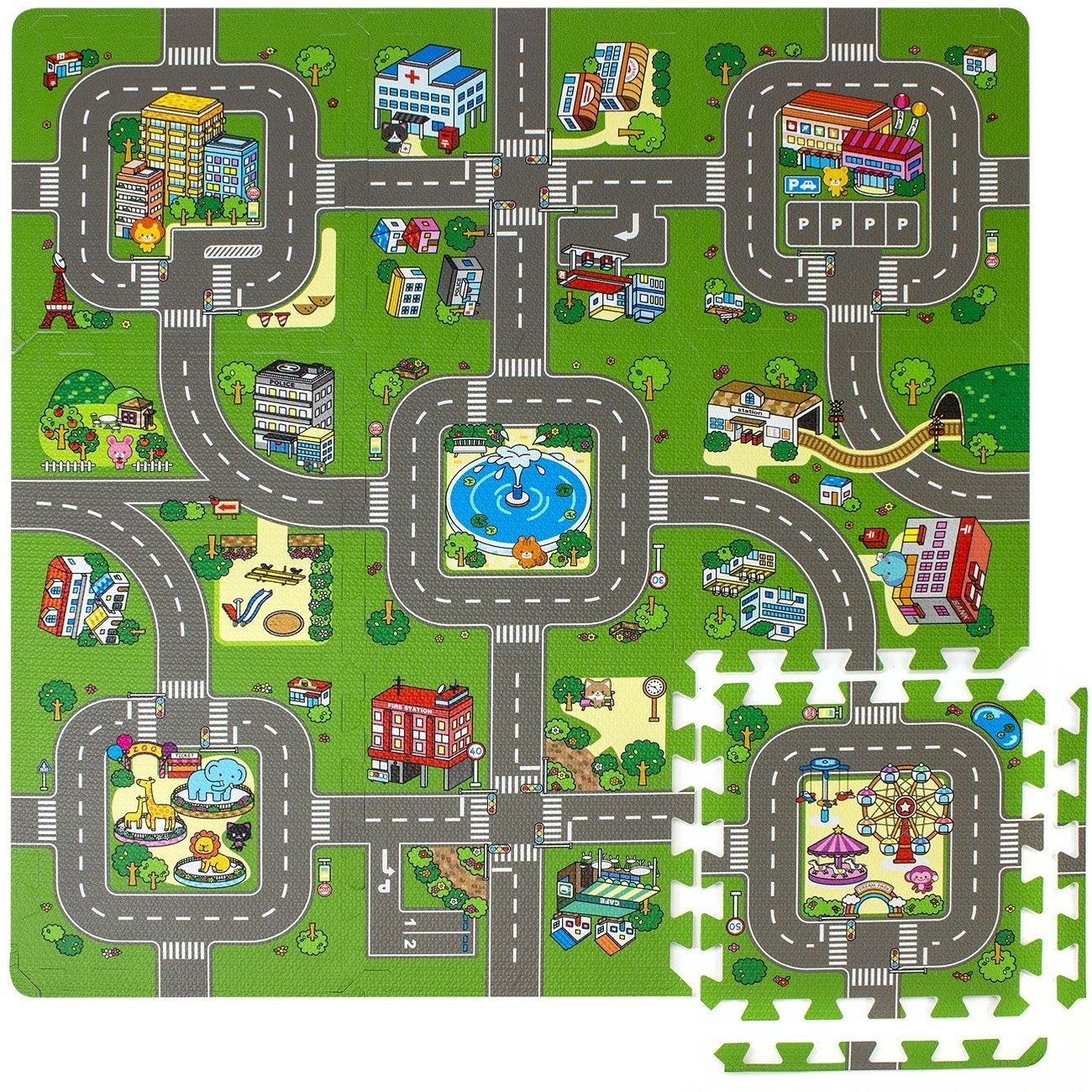 Kids Road Play Mat Toys Buy Online From Farm Music Playmat