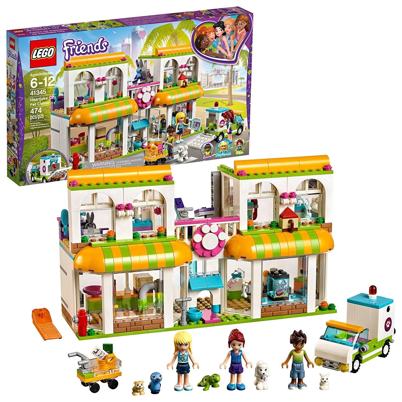 41345 City Piece Heartlake Pet Building Set474 Friends Centre Lego eE9WDYb2IH