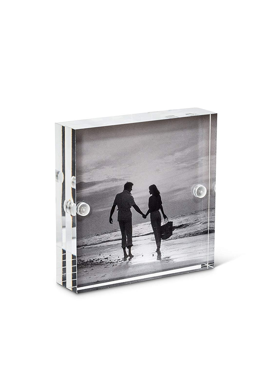 Haitian Acrylic Photo Frame Desk Picture Frame 4x6 Inches Photo
