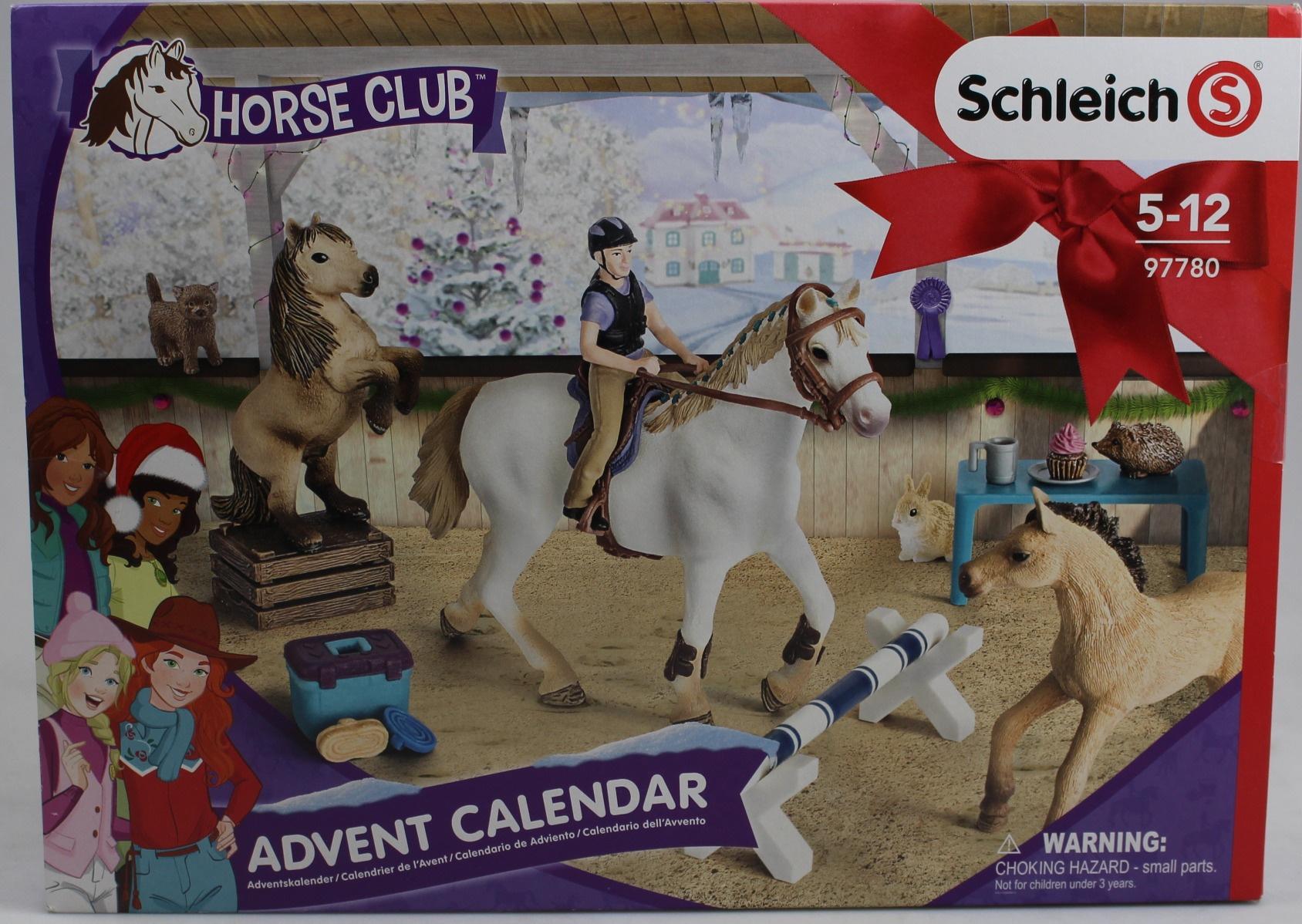 Schleich Horse Club Advent Calendar 2018 Multicolor