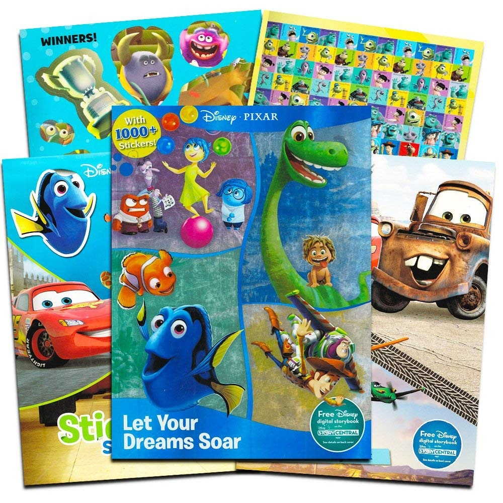 Toy Disneys Toy Story Sticker Squares 8ct Toy 30 Stickers Total