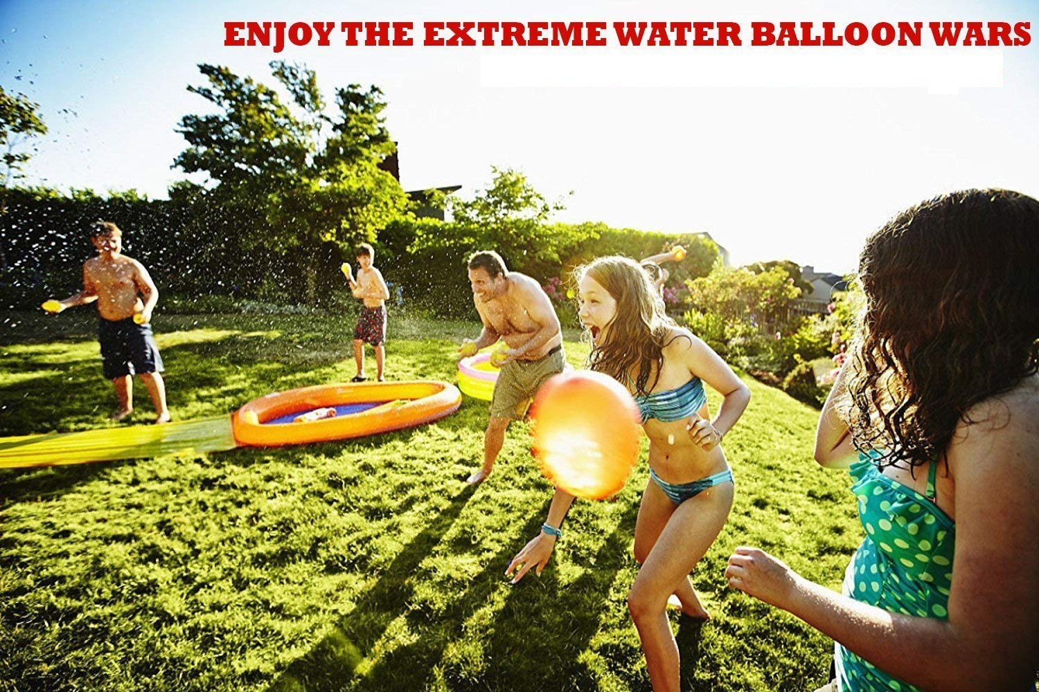 Summer Water Balloon Children's Kid's Toy Water Balloons, Colourful Outdoor  Water Bomb Fight Games, Summer Splash Fun for Kids and Adults