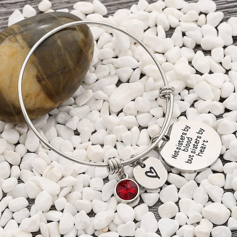 7f17d1a215889 Best Friends Bracelets- Not Sisters By Blood But Sisters By Heart Bracelet-  Sister Jewellery