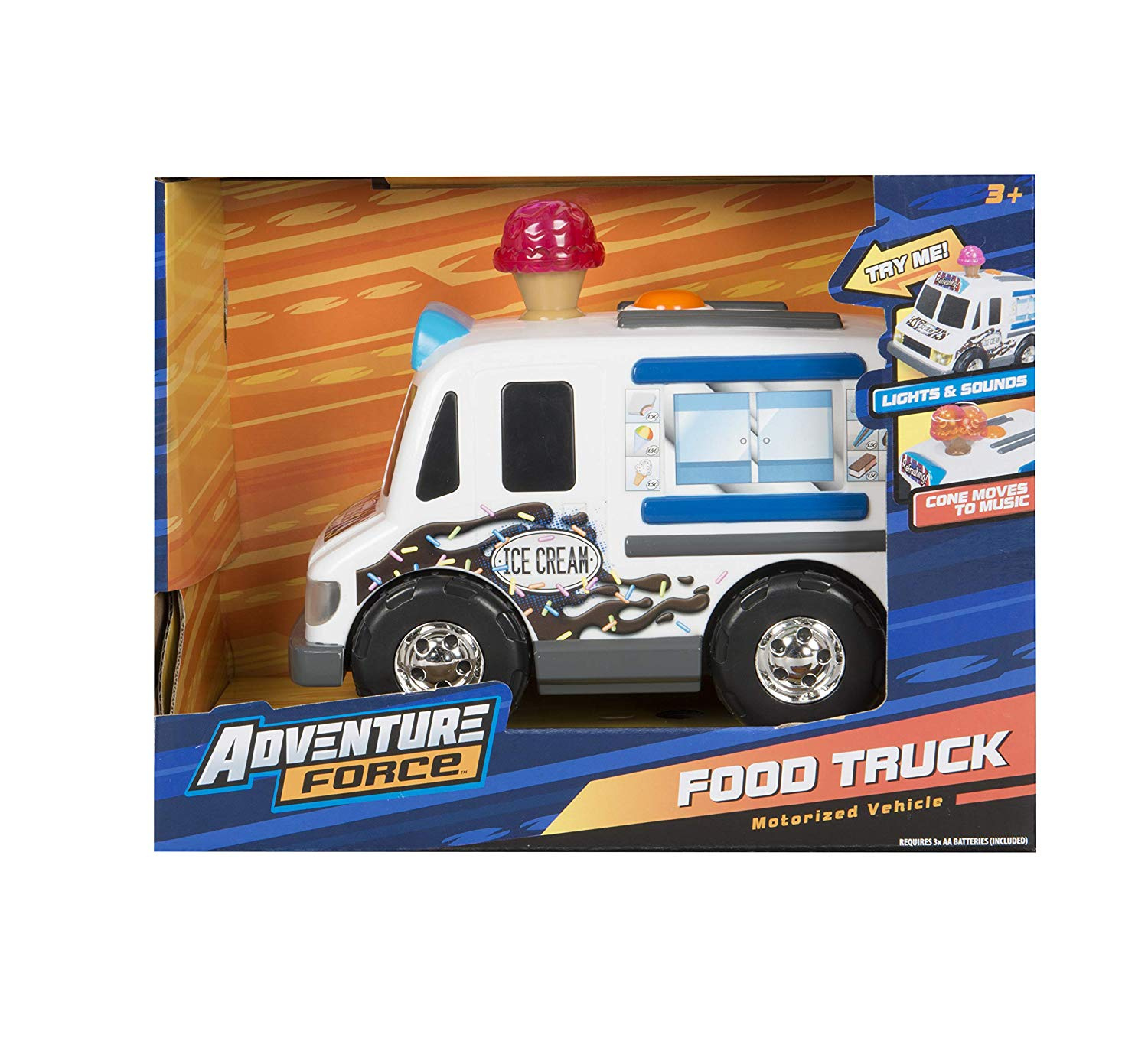 Baby Adventure Force Mini Die-cast Construction Vehicles Set With Bonus Fire Truck Baby Gear