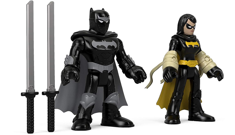 Action Figures Toys, Hobbies Clever Imaginext Batman Battle Shifterz Batman Figure