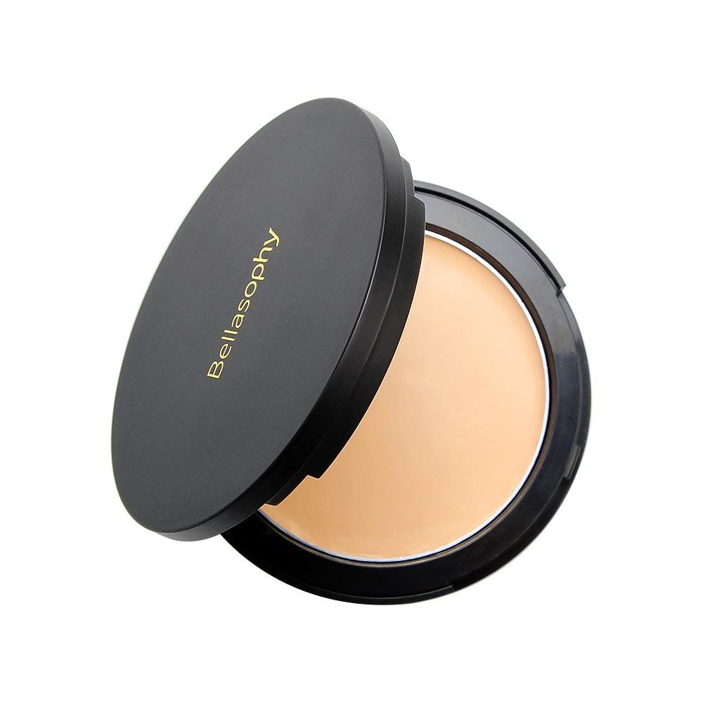 2d1ce1657ccc Bellasophy Compact Pur Mineral Creamy Soft Smooth Matte Full Coverage  Foundation Long Lasting with The Sponge-Classic Ivory
