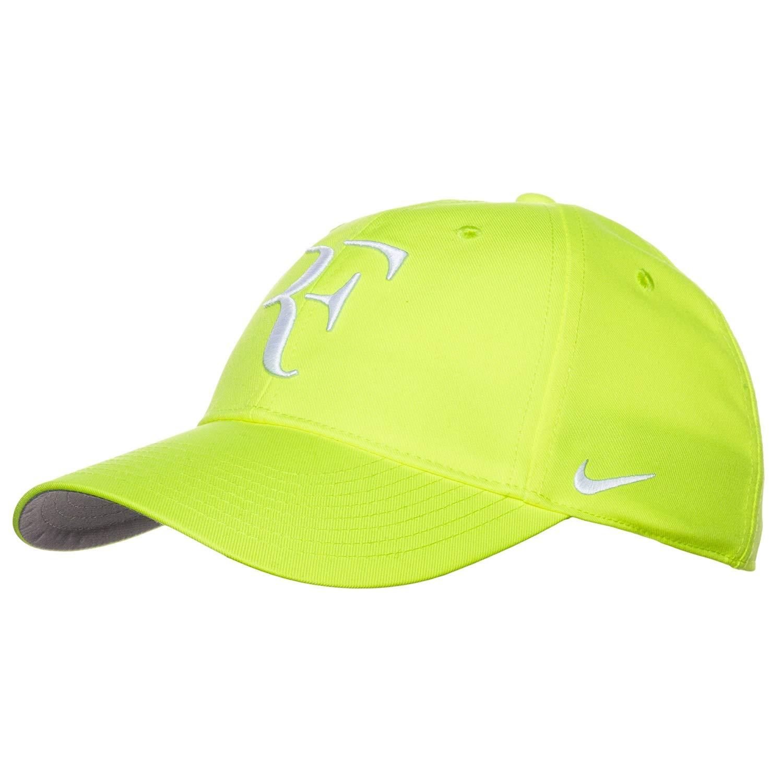 23f0d80e01c16 Nike RF Roger Federer Unisex Tennis Hat/Cap Volt Yellow