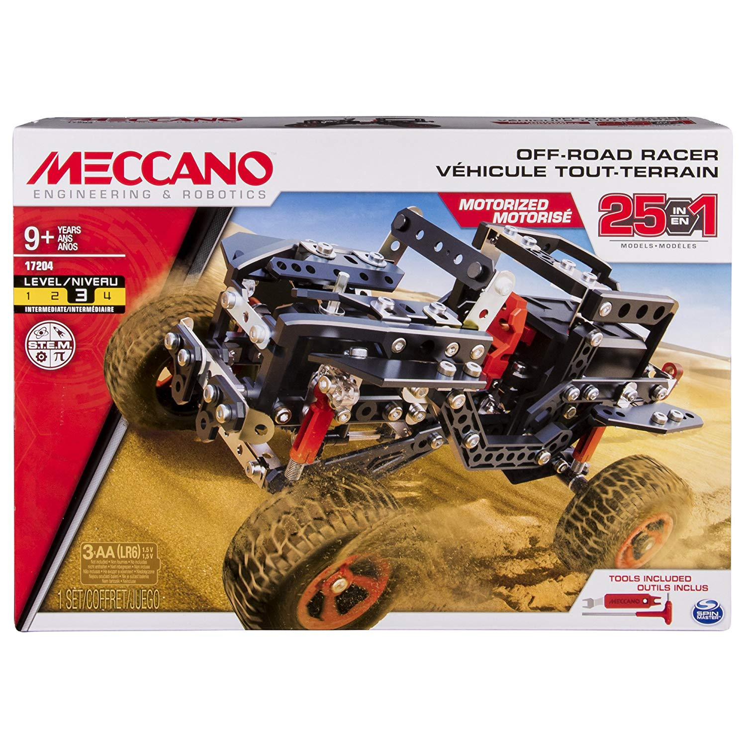 Elektrisches Spielzeug GRANDI GIOCHI Friction Powered off-road with trailer assorted colors