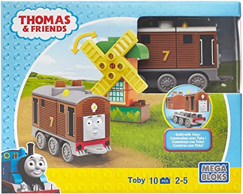 Fisher-Price (Fisher Price) Mega block Thomas character assortment Toby and  a windmill 10 piece CNJ07