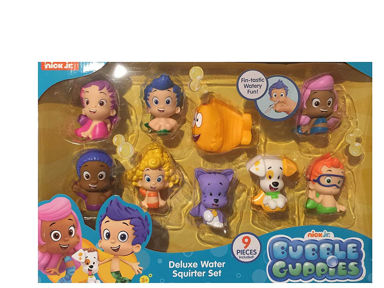 . Bubble Guppies Nick Jr Deluxe Water Squirter Set