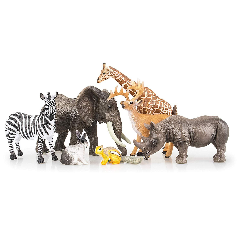 Alert Safari Ltd 761004 Jungle Animals Jungle Animas 12 Mini Figurines Cheap Sales 50%