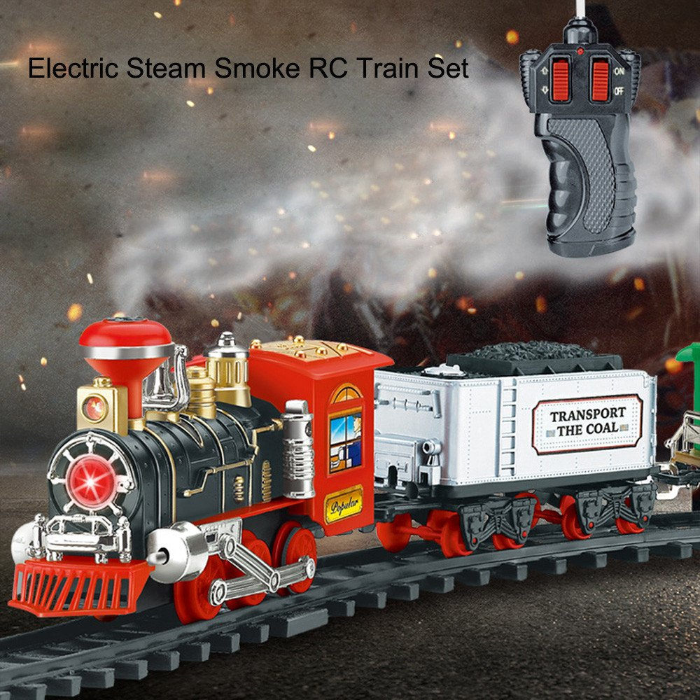 Green Pull Back Locomotive Steam Train Toy Set for Kids Toddler Party Favors