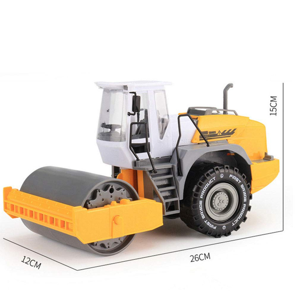 1:22 Road Roller Model Construction Toy Friction Powered