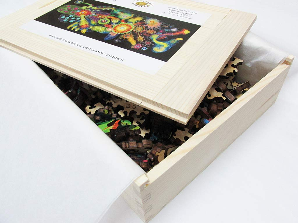 Artefact Puzzles Bruce Riley Half Life Wooden Jigsaw Puzzle