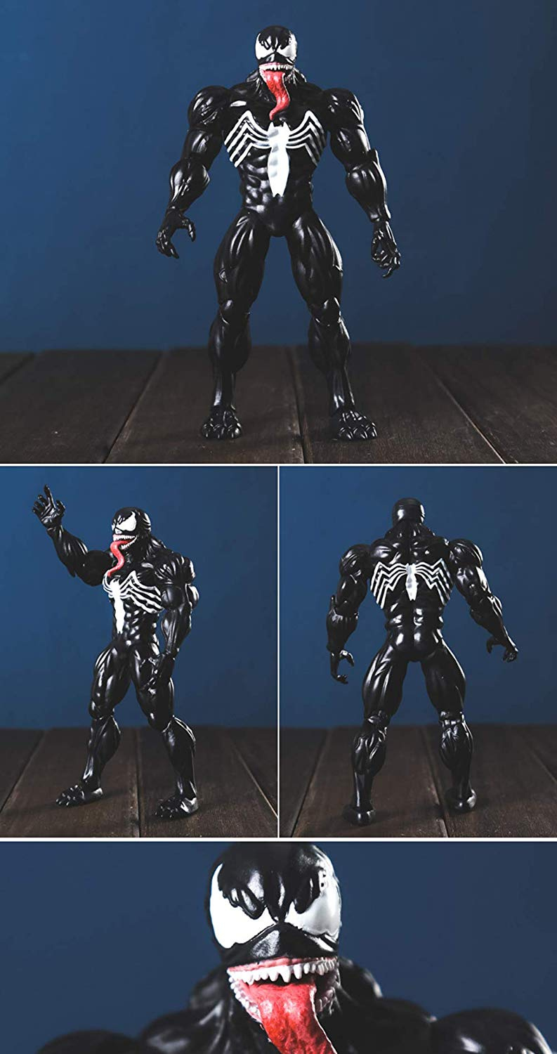 Venom Action Figurejoint Movable Marvel Legends Toyvenom Xbwj 18cm WEY9IHD2
