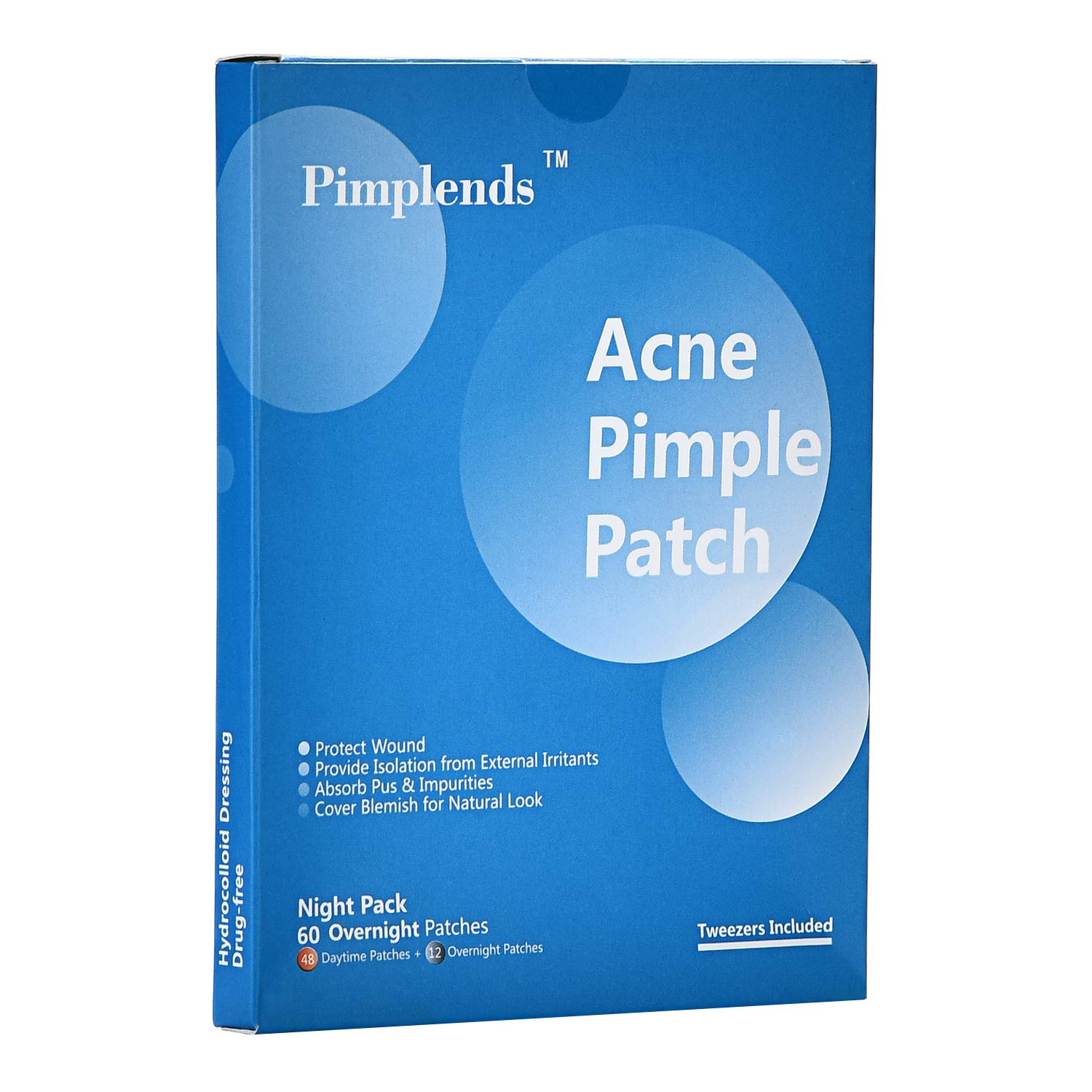 Acne Pimple Patch Drug-free Hydrocolloid Bandages Absorbing Spot Dot | Acne  Patch Pimple Pach | Acne Cover Patch | Acne Treatment Acne