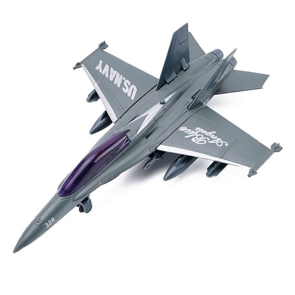 Homyl DIY Assembly 3D Fighter Plane Model Kits Home/Office Ornament