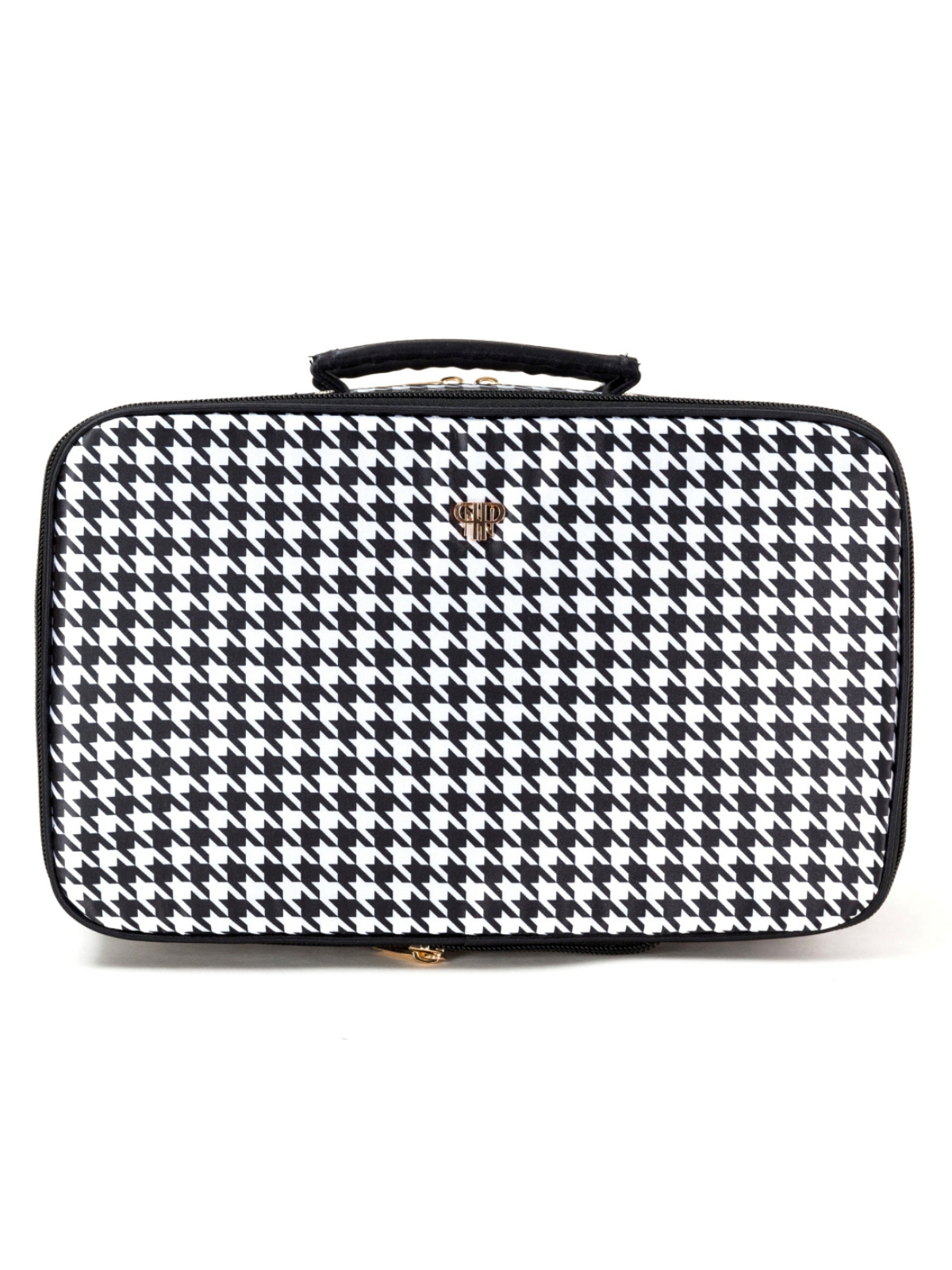389bd01c2511 PurseN Amour Travel Toiletry Bag Makeup Beauty Case - Houndstooth